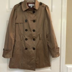 NEW Forever 21 Double Breasted Trench Coat Small